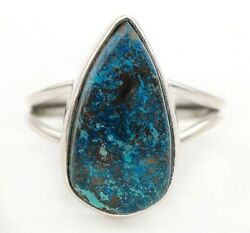 New Arrival Natural Azurite 925 Solid Sterling Silver Ring Jewelry Sz 8 C26-4