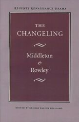 Changeling Paperback by Middleton Thomas; Rowley William Brand New Free ...