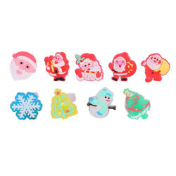 50pcs Finger Rings Luminous Creative Christmas Adorable Toy Gifts for Kids Girls