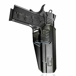 OWB Polymer retention with quick release holster for 1911 CZGlock Mamp;P Sig $35.15