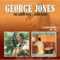GEORGE JONES-THE GRAND TOUR  ALONE AGAIN-IMPORT CD WITH JAPAN OBI F04
