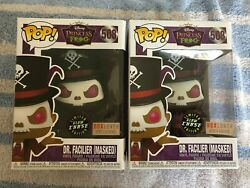 Funko Pop Disney The Princess & The Frog Dr. Facilier Masked #508 Boxlunch Excl.