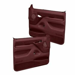 Coverlay Maroon Replacement Door Panels 12 94F MR For 92 97 Ford F 250 F 350 $631.50