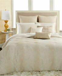 NEW 5PC INC International Concepts Caiman King Duvet Cover Set Bedding $470