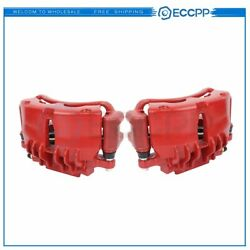 Front Pair Brake Calipers For Fits: Ford Mustang 1999 2002 Base or GT Models $101.29