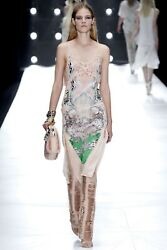 Roberto Cavalli Runway Laser Cut Leather Pants and Dress Stunning!