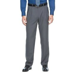 Croft & Barrow True Comfort Men's Dress Pants Pleated Classic Fit