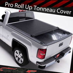 For 2005-2019 Nissan Frontier 5Ft 60'' Short Bed Lock Soft Roll-up Tonneau Cover