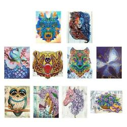 5D DIY Special Shaped Diamond Painting Abstract Cross Stitch Embroidery Kit JF#E