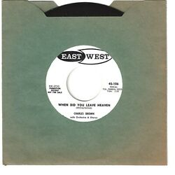 CHARLES BROWN 45  When Did You Leave Heaven  We've Got A Lot In Common - NM