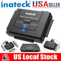 Inateck USB 3.0 to IDE SATA External Hard Drive Reader Fit for 2.5 3.5 HDD SSD $24.93
