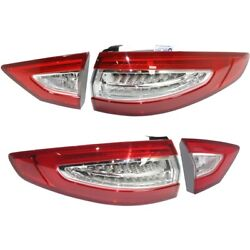 Tail Light Lamp Left-and-Right LH & RH for Ford Fusion 2013-2016