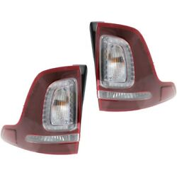 Pair Tail Lights Lamps Set of 2 Left-and-Right FO2800230C FO2801230C LH