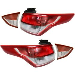 Tail Light Lamp Left-and-Right LH & RH for Ford Escape 2013-2016