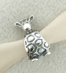 NWT Authentic Pandora Sterling Silver Giraffe Charm 790274 Retired