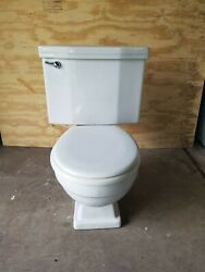American Standard 1960 Toilet Compton 2116 White F4043 22 K58 VINT LOCAL PICKUP