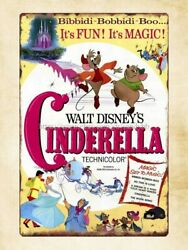 wall metal design Cinderella Poster movie metal tin sign $15.99