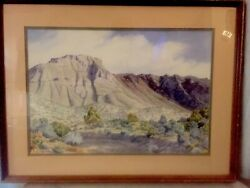 """Nature is God's Art"" by artist Peggy Butler Beautiful Framed"