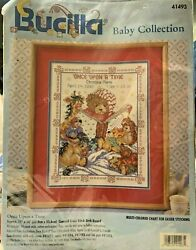 Bucilla Baby Birth Record Cross Stitch Kit #41493 ~ ONCE UPON A TIME 11