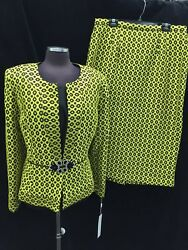 LILYamp;TALOR SKIRT SUIT NEW WITH TAG RETAIL$279 SIZE 16 SKIRT LENGTH 32quot; LINED $129.99