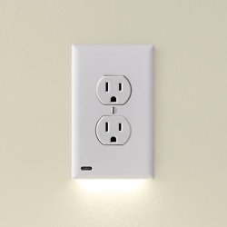 SnapPower GuideLight 2 - Night Light - Outlet Wall Plate With LED Night Lights $14.98