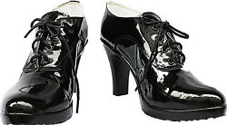 Cosplay Boots Shoes for Black Butler Grell Sutcliff Black