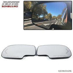 Pair Mirror Heated with Turn Signal Left & Right Side For Chevy GMC Cadillac $22.93