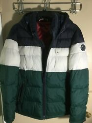 Tommy Hilfiger Men's Premium Ultra lnsulated Hooded Puffer Jacket Coat