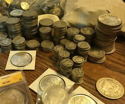Estate Lot Sale Auction Coins Silver & Gold Bullion Found After 60 Years Hidden $58.85