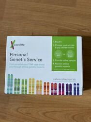 Brand New & Sealed 23andMe Personal Genetic Service Saliva Collection Kit