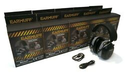 Pack of 10 EarMuff Black Headphones 31 Decibels with Bluetooth  $599.99