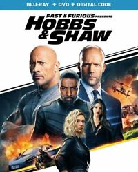 Fast & Furious Presents: Hobbs & Shaw (Blu Ray + DVD + Digital) 2019 * THE ROCK
