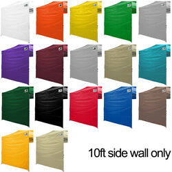 Eurmax 10ft Wall for 10x10 Outdoor Pop up Wedding Party Instant Canopy Sidewall $18.95