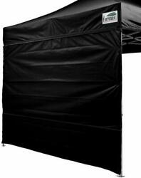 10Ft Zipper Side Wall for Pop Up Canopy Party Tent Instant Gazebo Sidewall Black $16.99
