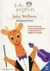 Baby Einstein Baby Beethoven Symphony of Fun DVD By n a VERY GOOD $4.39