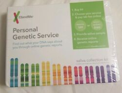 23andMe Personal Genetic Service Saliva Collection Kit - DNA Testing Kit