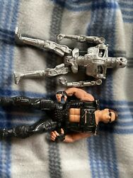 Terminator 2 Action Figure T-800 Terminator Kenner 1991 w Secret Weapon