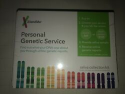Brand New 23andMe Personal Genetic Service Saliva Collection Kit - FREE SHIPPING