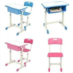 Hot Style Desk Chair Set Student Adjustable 4 Colors Child Study Home Furniture $78.89