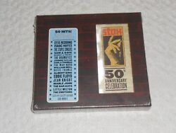 CD- VARIOUS ARTISTS: STAX 50TH ANNIVERSARY CELEBRATION  SEALED ( 2 Disc SET )