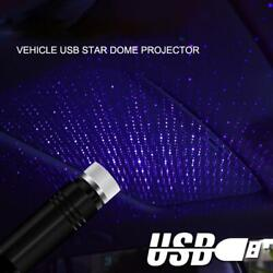 USB Car Interior Starry Sky Lamp Roof Light Ambient LED Star Light Projector USB $9.49