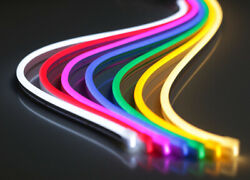 12V Flexible LED Strip Waterproof Sign Neon Lights Silicone Tube 1M 5M or 50M $21.99