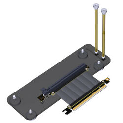 ADT Link PCI E 3.0 16X Graphics card Base Bracket w PCIE Extension Cable R33SQ $15.66