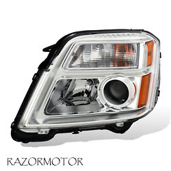 2010-2015 Driver Side Replacement Projector Headlight For GMC Terrain W Bulb