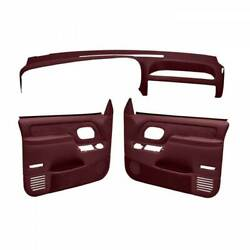 Coverlay Maroon Interior Accessories Kit 18 695C59F MR For 95 96 Chevy GMC $880.51