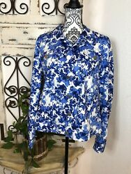 Robert kitchen Canada blue white jacket Size XXL Womens $45.00