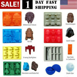 US Star Wars Ice Tray Silicone Mold DIY Ice Cube Tray Chocolate Mould Death Star $7.73