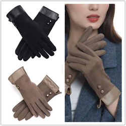 Womens Thick Winter Gloves Warm Windproof Thermal Gloves for Women Girls $7.99