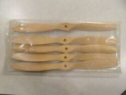 LOT 5 RC Wood propellers 10 X 5 1 4 hole 12mm thick $18.39