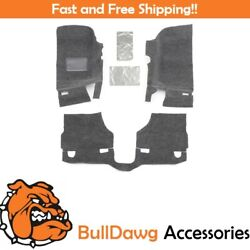 BedRug BRJK11F2 3 Piece Floor Kit for 11 Jeep JK 2 Door Floor ONLY $194.00